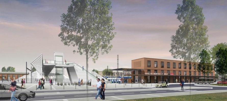 RER E : une nouvelle gare à Mantes-la-Jolie d'ici 2020