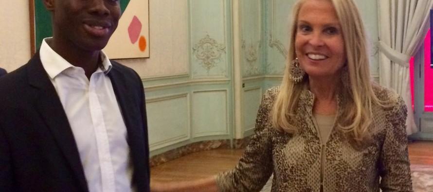 Mantes Actu rencontre l'ambassadrice des États-Unis