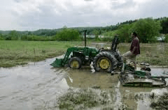 inondations agriculture
