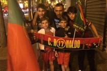 Mantes-la-Jolie : les supporteurs portugais ont fêté la victoire de la Selacçao à l'Euro