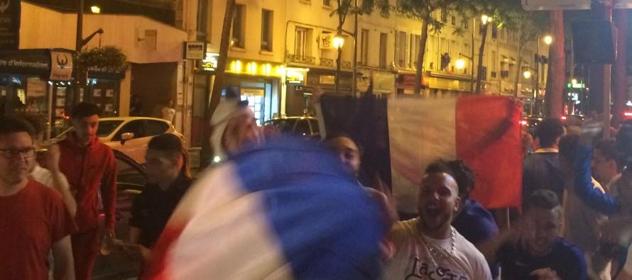 Euro 2016 : ambiance folle à Mantes après la qualification des bleus pour la finale
