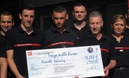 Magnanville : les pompiers collectent 13 000 € pour les fils du policier assassiné