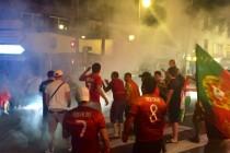 Euro 2016 : les Portugais de Mantes font la fête