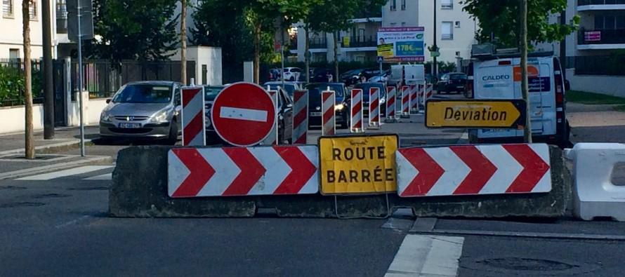Mantes-la-Jolie : circulation perturbée au boulevard des Cygnes jusqu'au 26 septembre
