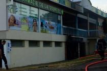 Limay : l'auto-école de La Source victime d'un incendie