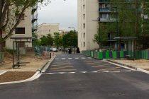 Mantes-la-Jolie: la rue Christophe-Colomb a été prolongée