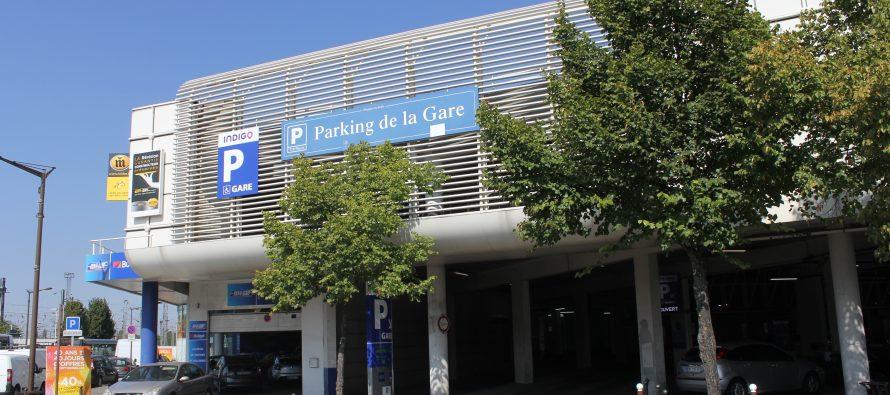 Mantes-la-Jolie : le parking souterrain de la gare rénové