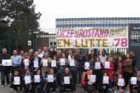 Mantes-la-Jolie : grève des profs au lycée Jean-Rostand