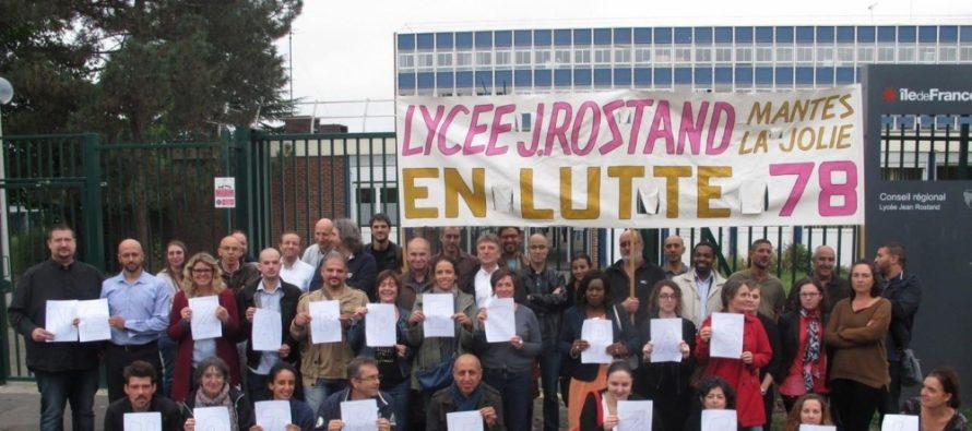 Lycée Rostand Mantes : grève des profs ce lundi 9 janvier