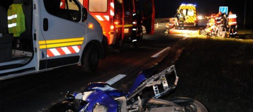 Limay : un motard victime d'un accident grave, pronostic vital engagé