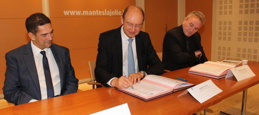 Mantes-la-Jolie signe une convention avec l'Université Mohammed V de Rabat (Maroc)