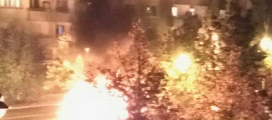 Calme relatif à Mantes-la-Jolie : deux voitures brûlées