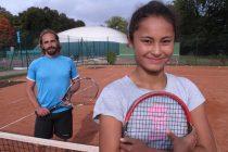 Mantes-Maule : Noa Dujardin, la jeune espoir du tennis français