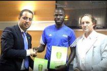 Oumar N'diaye nommé responsable de l'académie de football de la Mauritanie