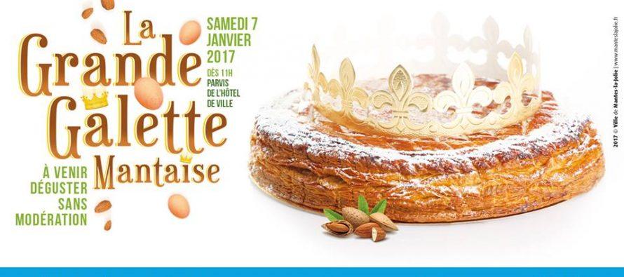 Mantes-la-Jolie : dégustez gratuitement une grande galette de 12 mètres