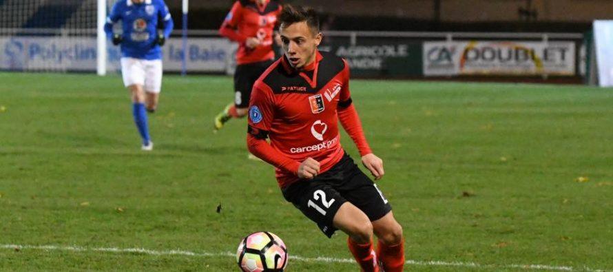 Foot – Smash Académie : Antoine Leautey signe jusqu'en 2020 à Niort (Ligue 2)