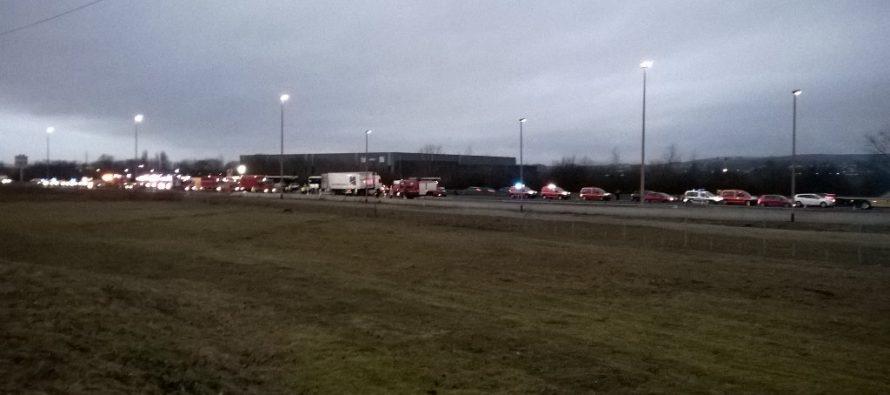 A13 Épône : l'autoroute coupée dans le sens Rouen-Paris après le carambolage qui a fait 65 blessés