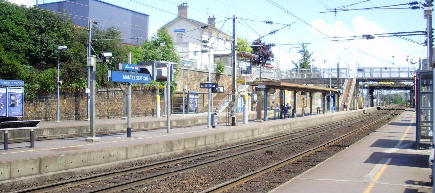 RER E à Mantes : travaux préparatoires à Mantes-Station jusqu'au 30 octobre