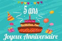 Anniversaire : le journal Mantes Actu fête ses 5 ans