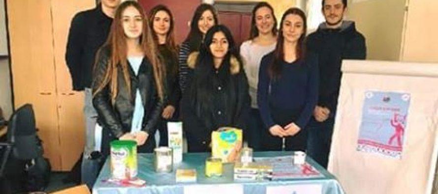 IUT Mantes : une collecte alimentaire pour les Restos du Coeur de Mantes-la-Ville