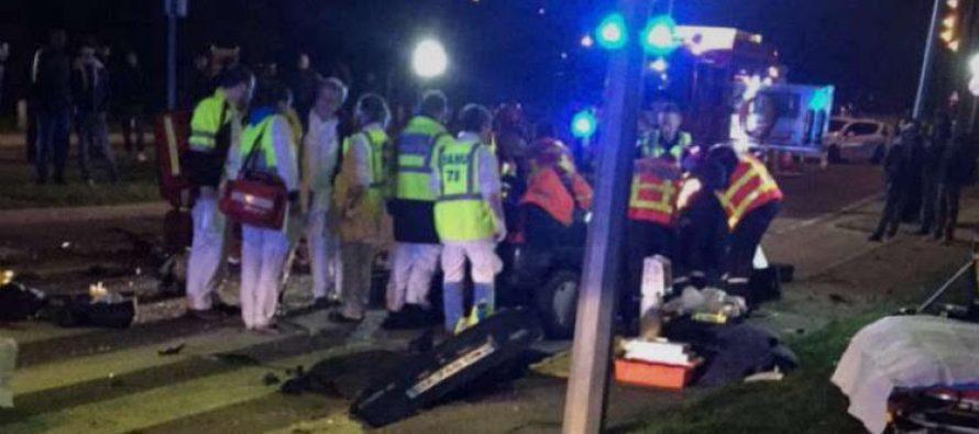 Accident au bassin d'aviron de Mantes : la conductrice de la voiture est décédée