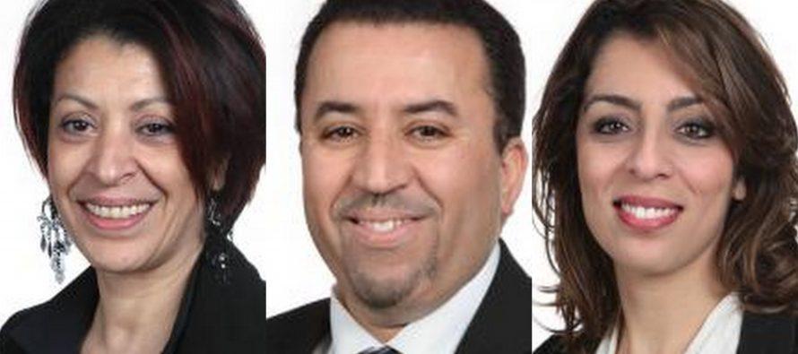 Mantes-la-Jolie : Morillon, El Abdi et Moudnib appellent à voter Macron à l'élection présidentielle