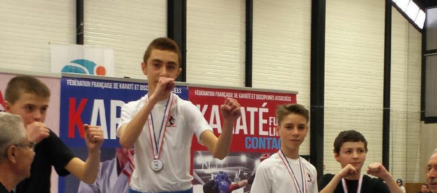 Karaté Semi-Contact : Ilhan Sakin est champion de France