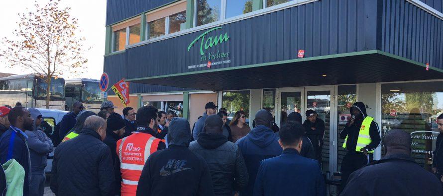 Grève du 05/12 : trafic très perturbé sur le réseau de bus Rosny-Mantes-Limay