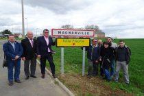 Magnanville : la première fleur inaugurée