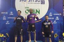 Jiu-Jitsu Brésilien NOGI : Karim Boursali sacré champion d'Europe à Rome (Italie)