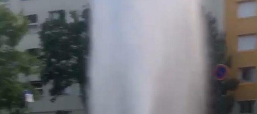 Mantes-la-Jolie : l'ouverture d'une bouche d'incendie provoque des tensions