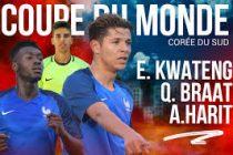 Foot – Mondial U20 : Kwateng et les bleuets débutent par une victoire contre le Honduras