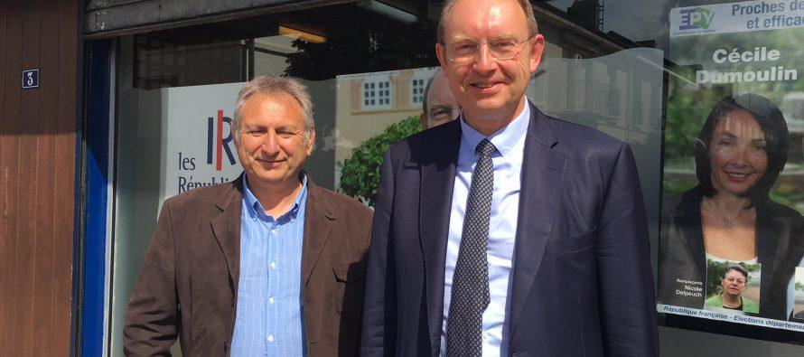 Législatives à Mantes : Philippe Pascal (SE) sera le suppléant de Michel Vialay