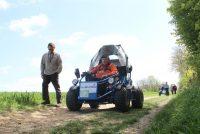 Limay : présentation en avant-première nationale d'un véhicule électrique adapté tout terrain