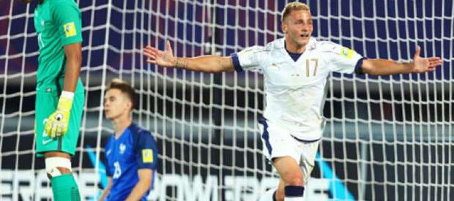 Foot – Mondial U20 : la France éliminée par l'Italie en 8èmes de finale