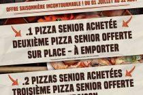 Original's House Mantes : 1 pizza senior au feu de bois achetée = 2ème offerte