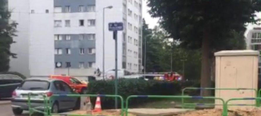 Tour Clément Ader Mantes : un homme tombe du deuxième étage