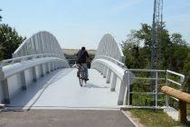 Rosny-sur-Seine: inauguration de la nouvelle passerelle piétonne et cyclable