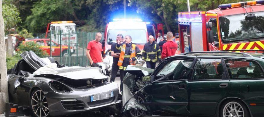 Gargenville : la violente collision fait un blessé grave