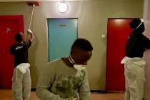AFPI – BATI JOLIE : des jeunes entretiennent la tour Clément Ader