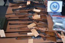 Coup de feu au Sporting : des armes saisies chez les suspects