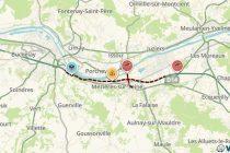 L'A13 bouchée en direction de Paris après un accident entre Mantes et Flins-sur-Seine