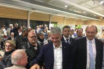 Présidence de LR : Wauquiez accueilli par 300 militants à Mantes-la-Jolie