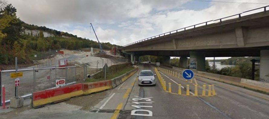 Mantes-Épône : la Route Départementale 113 fermée du 24 au 26 octobre