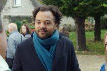 Fabrice Éboué au CGR de Mantes le 10 octobre pour son film Coexsiter