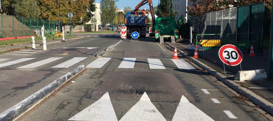 Mantes-la-Jolie : attention, travaux avenue Albert-Camus
