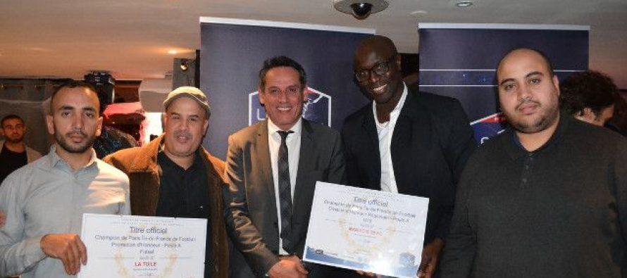 Foot : le FC Mantois et La Toile récompensés par la Ligue de Paris Ile-de-France