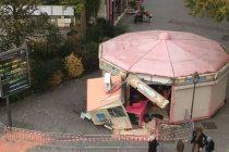 Mantes-la-Jolie : appel aux dons pour le «Manège Enchanté», détruit par une voiture