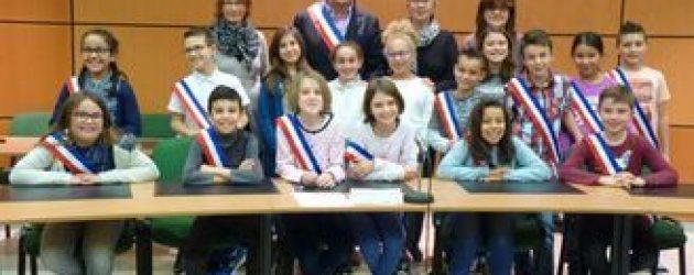 Magnanville : installation du nouveau conseil municipal d'enfants