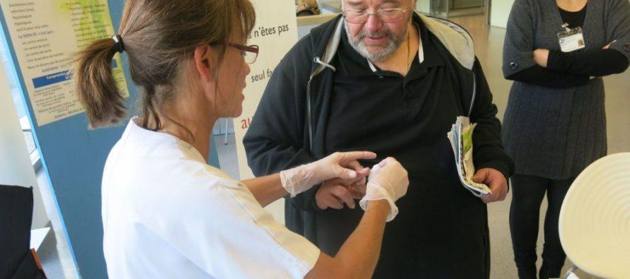 """Mantes-la-Jolie se mobilise pour la """"journée mondiale du diabète"""""""